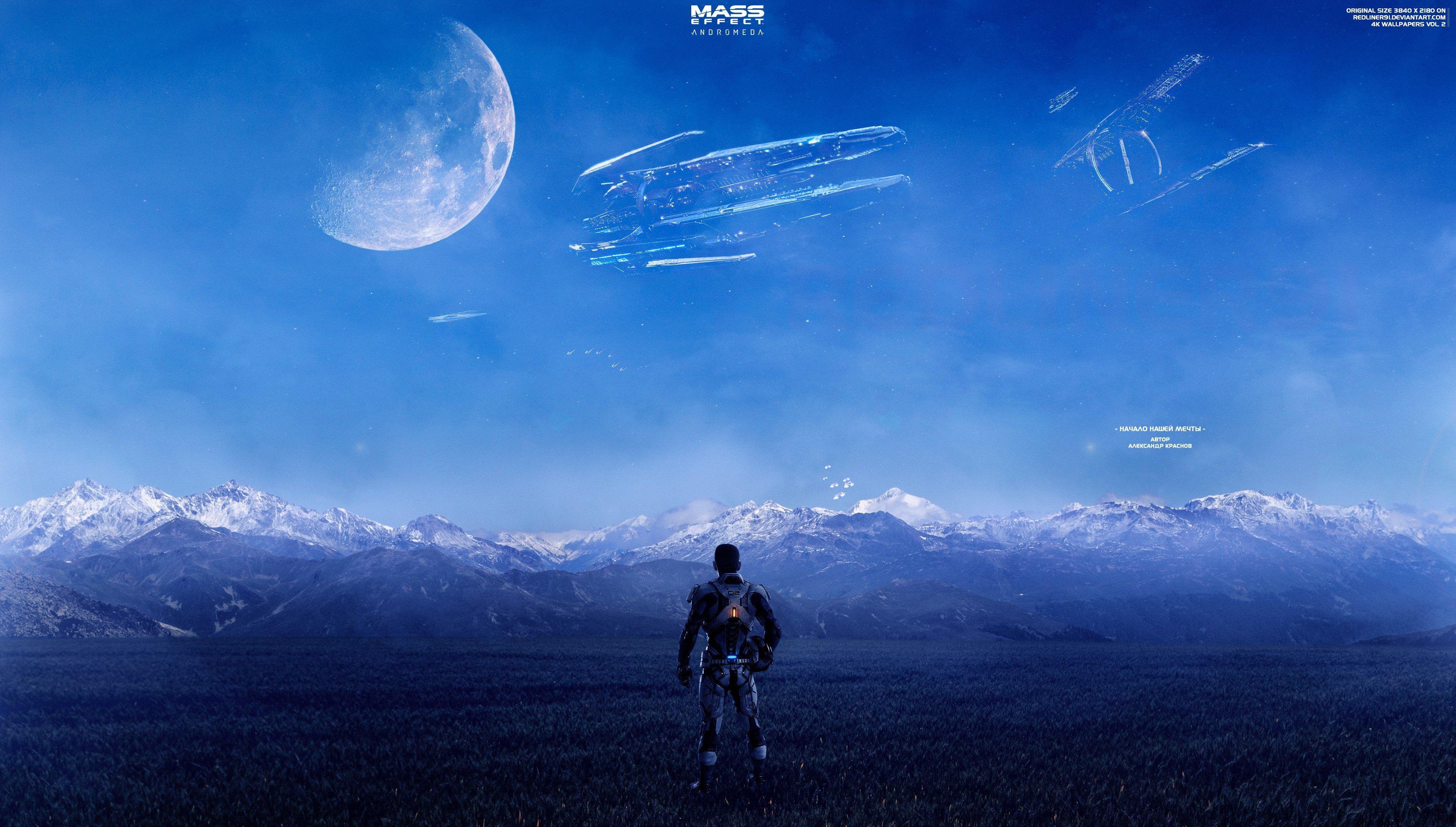 3840x2180 Mass Effect Andromeda 4k Wallpaper For Desktop Hd Mass Effect Background Images Landscape