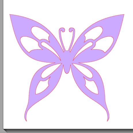Fichier sst papillon pour silhouette studio cameo my stuff pinterest silhouette - Silhouette papillon imprimer ...