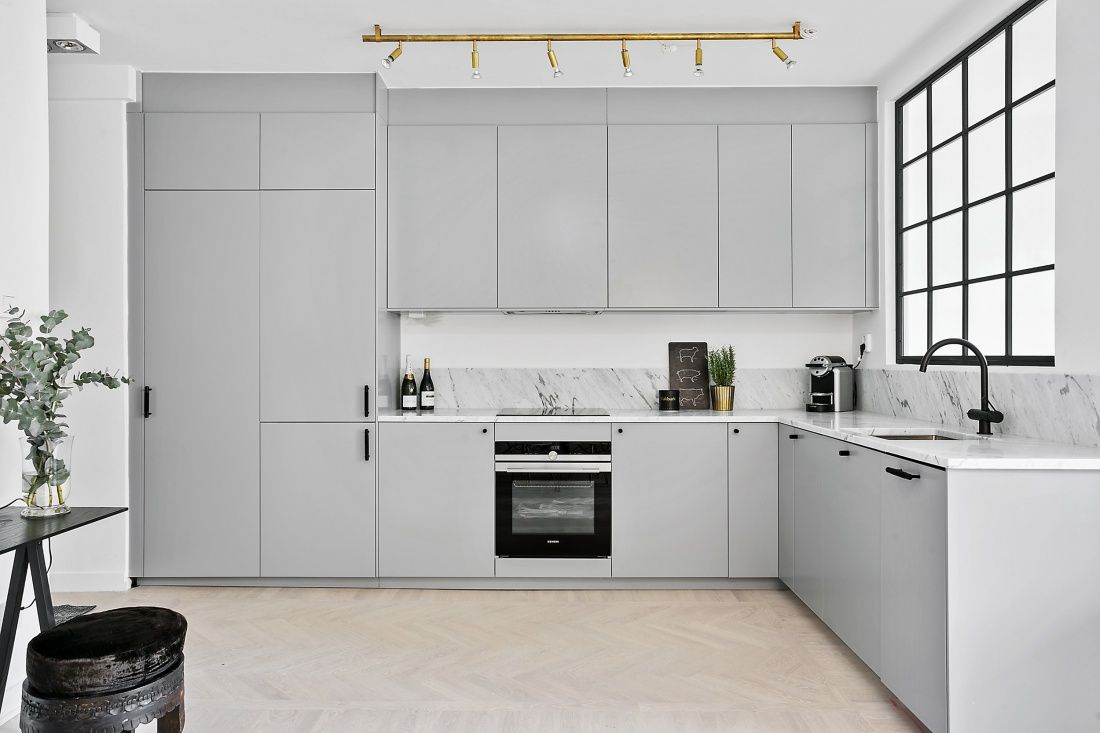 Ikea Veddinge Buster And Punch Orsjo Brass Koksdesign Inreda Kok Kok Inspiration Gratt