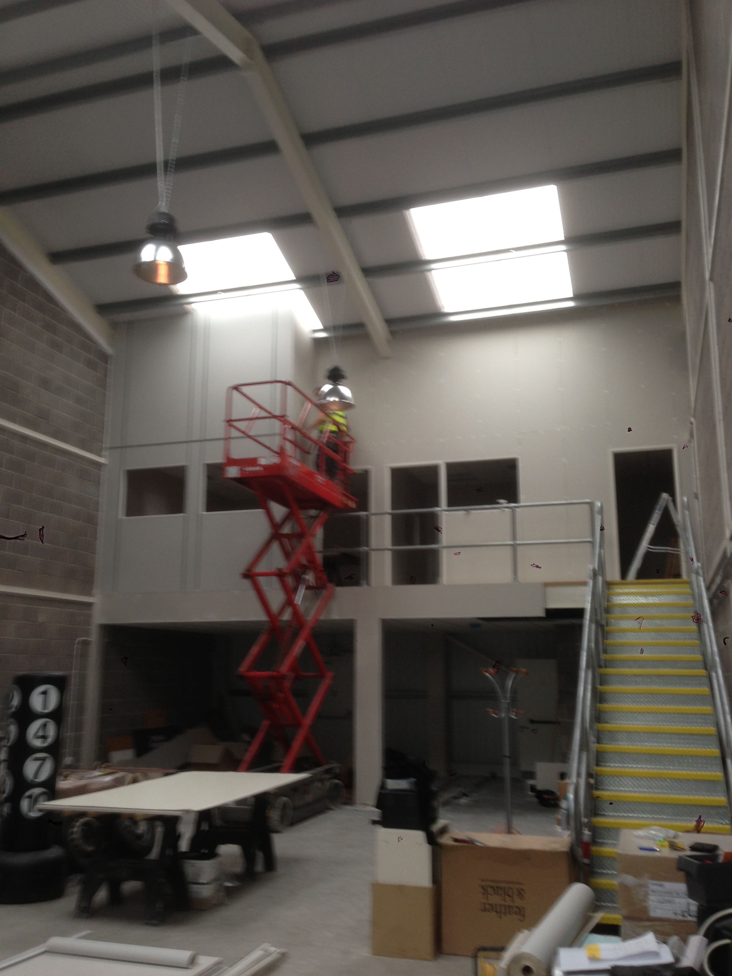 mezzanine floor office. Offices Constructed On Top Of Fire Rated Mezzanine Floor. Floor Office