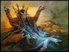 Vampire magic by DevBurmak