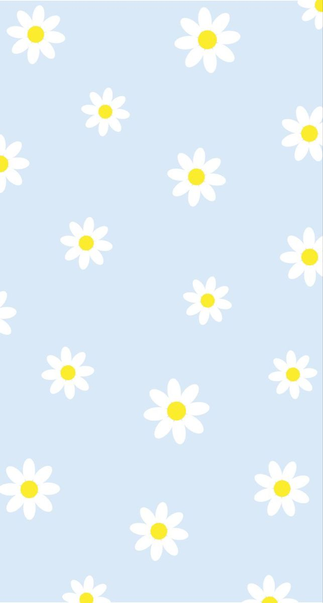 Blue Daisy Flower Digital Wallpaper! 🌟