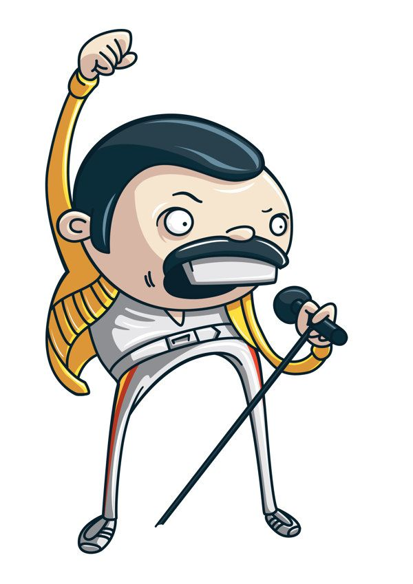 Ilustraciones de personajes por Jorge Daniel Tercarioli