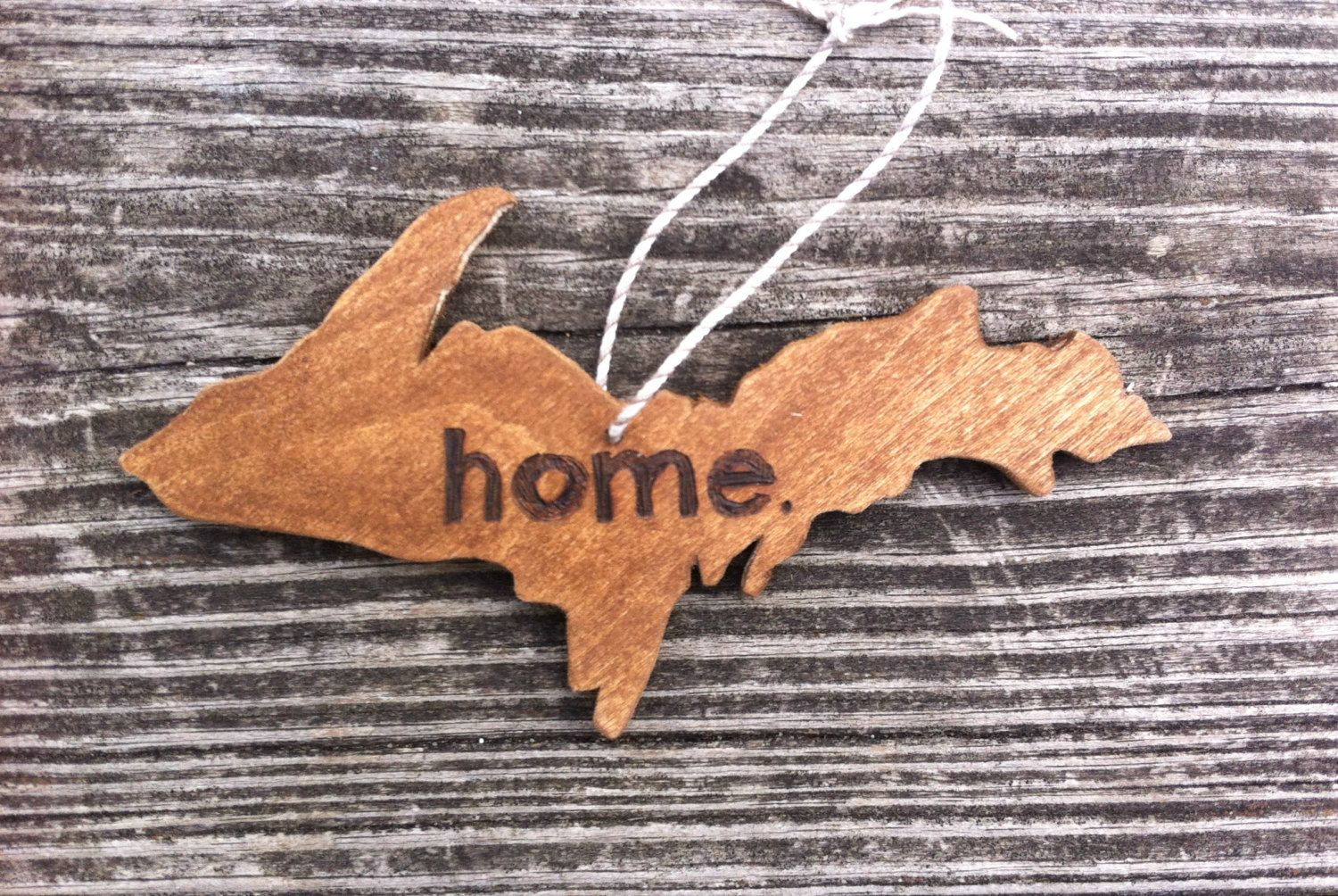 Michigan Gift Idea Handmade Home Decor From Wood By Al Upper