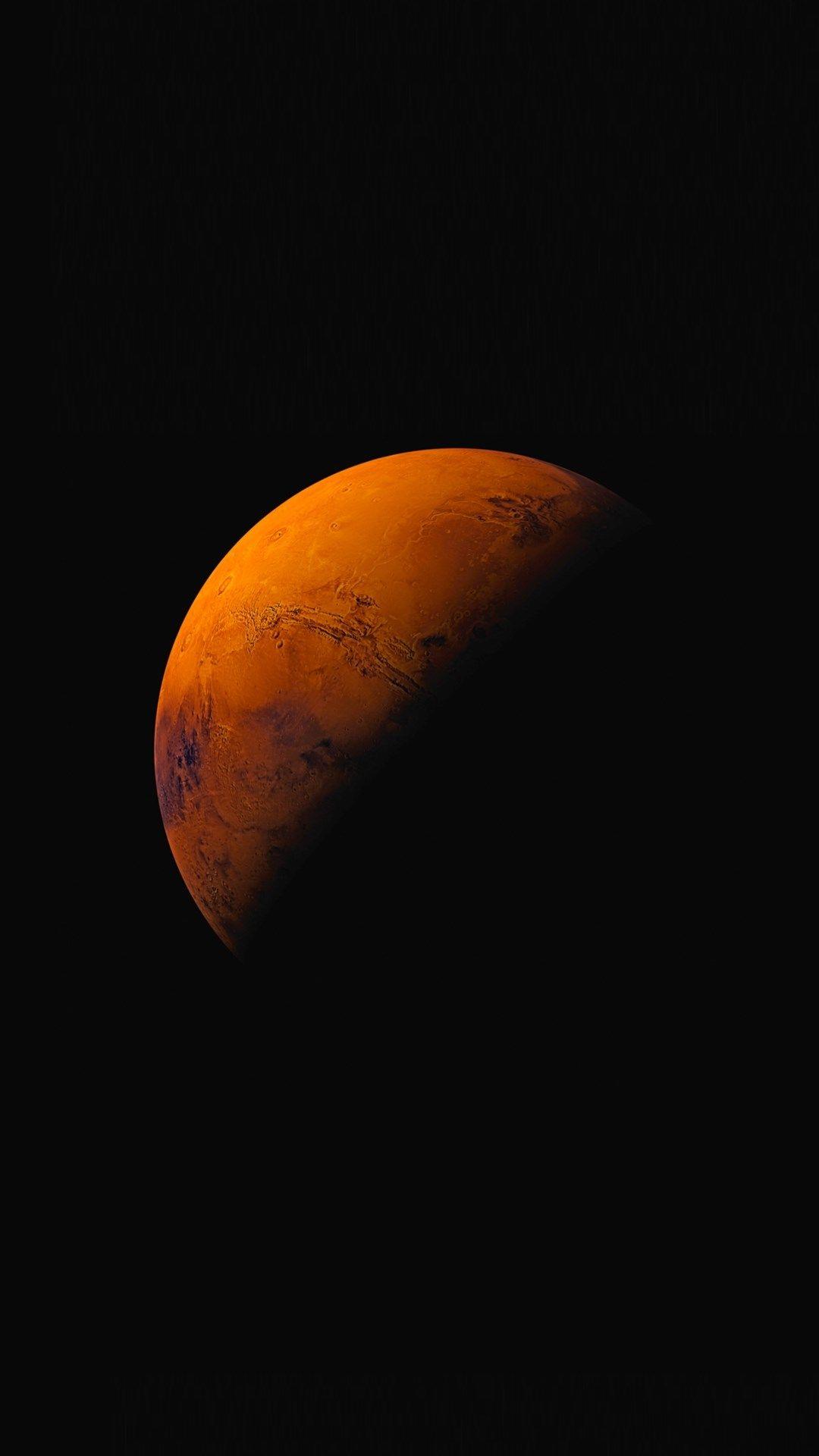 dark planet iphone background