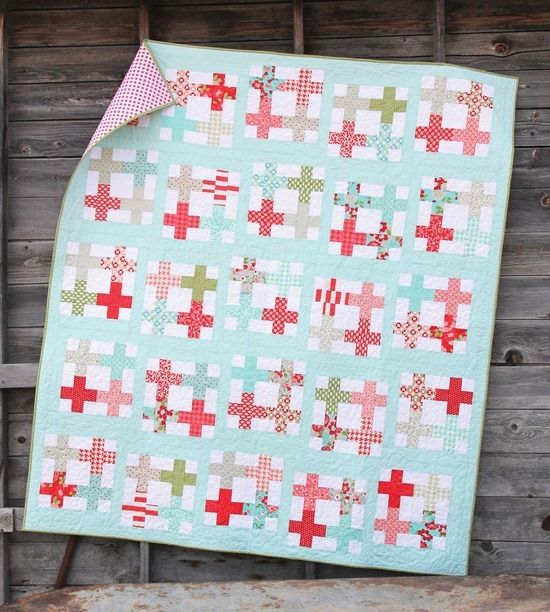 tea party quilt by Cluck Cluck Sew