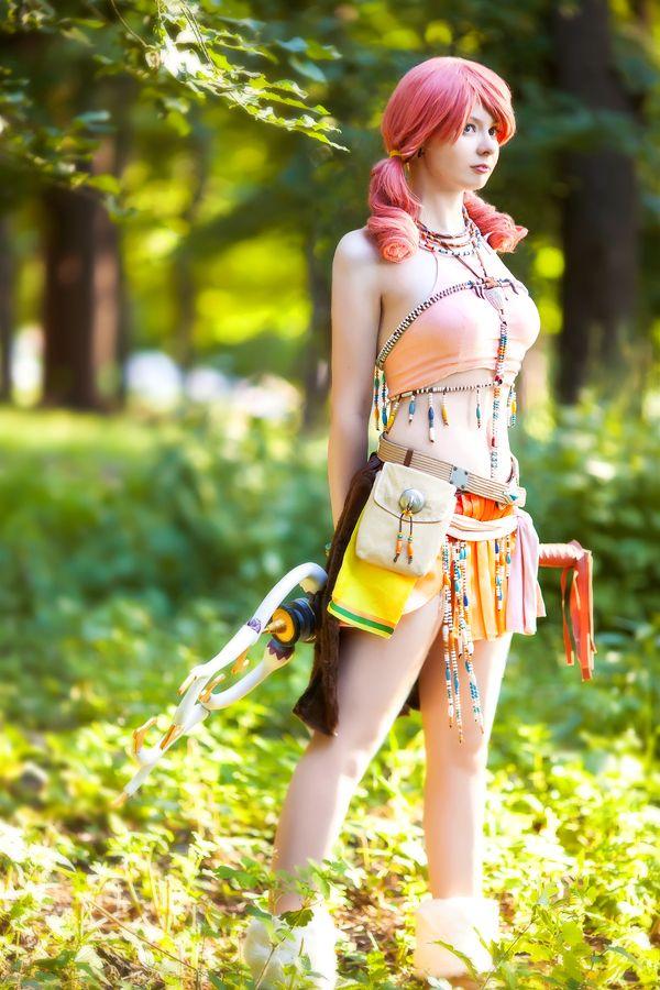 Final fantasy vanille cosplay