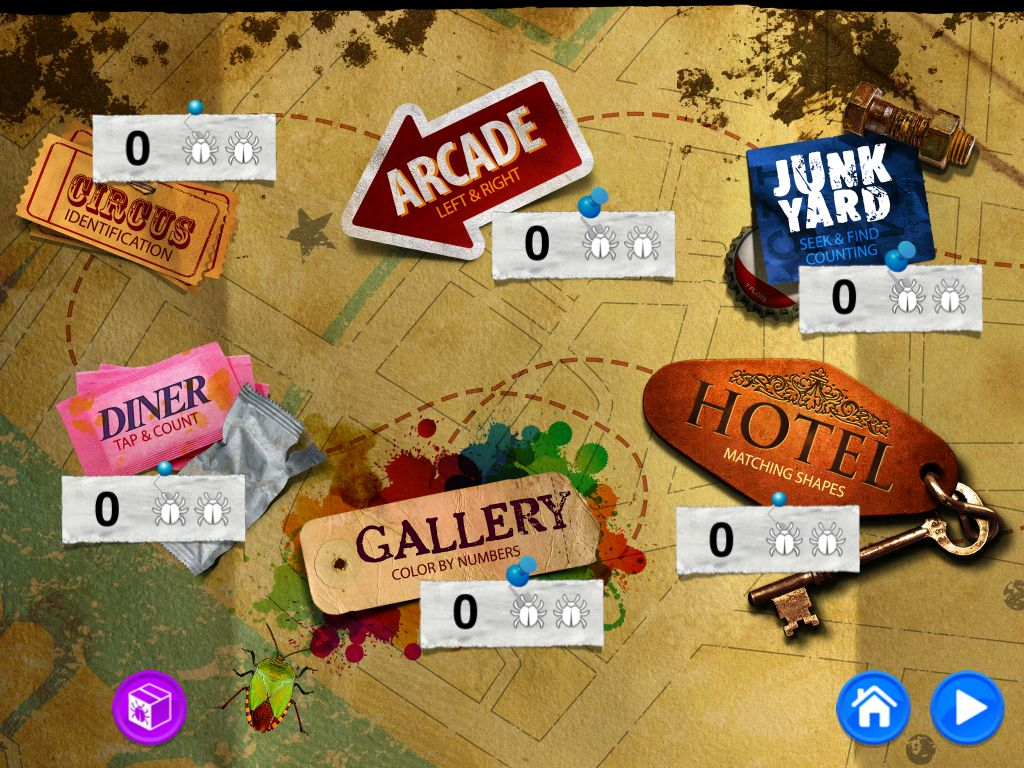Bugs and Numbers Educational ipad apps, Ipad apps, Shape