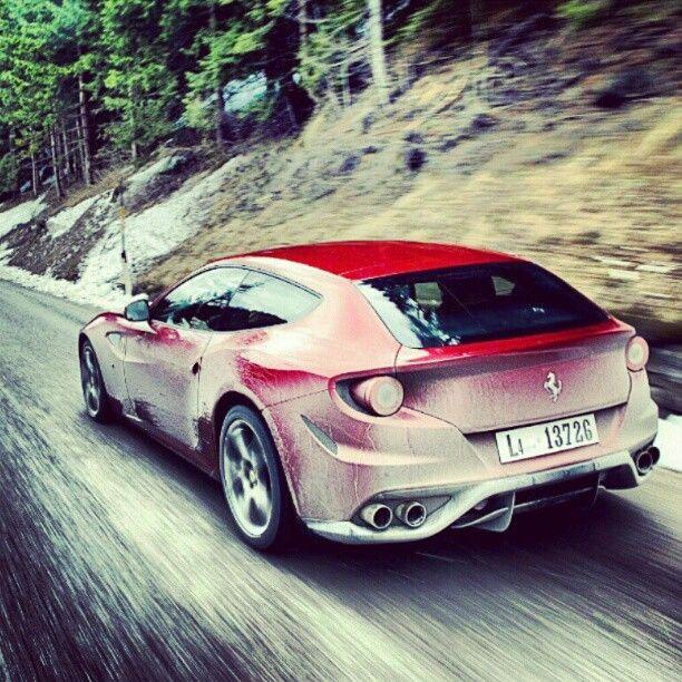 "4 Seat Ferrari: @oficialferrari's Photo: ""Ferrari FF Is The World's"