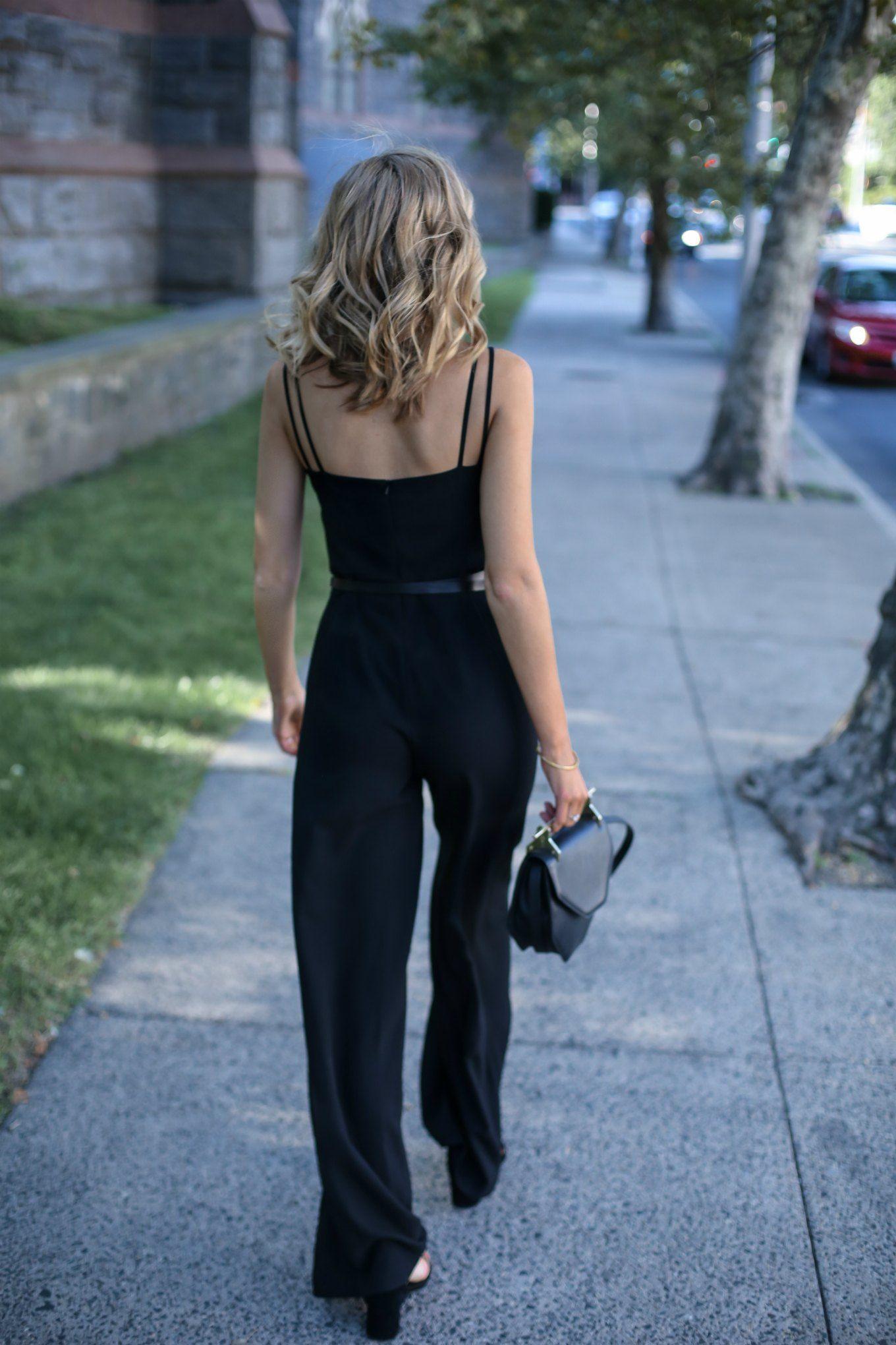 Little Black Dress Vs Little Black Jumpsuit Memorandum Formerly The Classy Cubicle Little Black Dress Jumpsuit Black Jumpsuit [ 2040 x 1360 Pixel ]