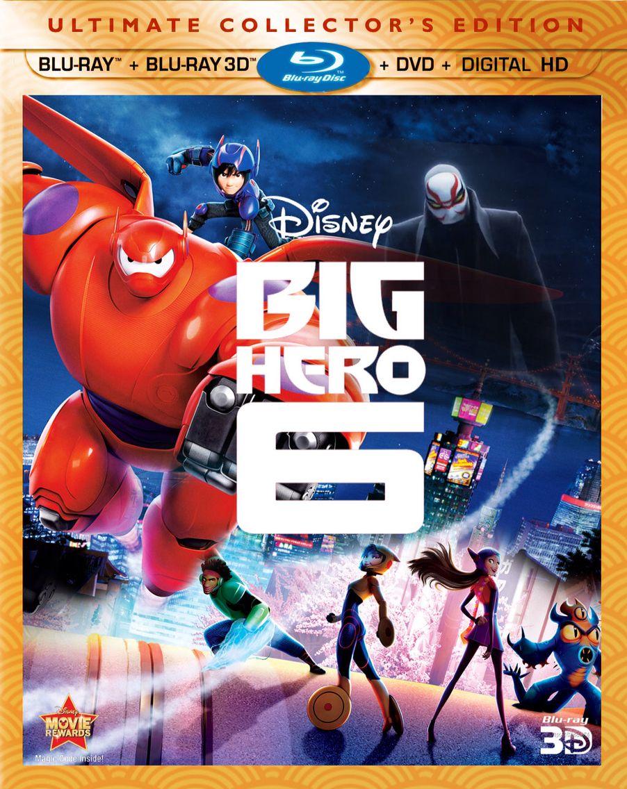1 Big Hero 6 Blu Ray 3d Combo Pack Big Hero 6 Big Hero
