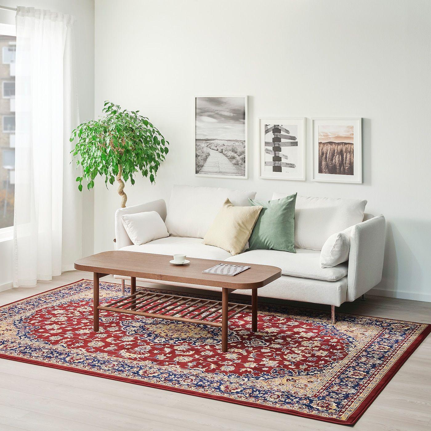 VedbÄk Multicolour Rug Low Pile Length 300 Cm Ikea Teppich Reinigen Teppich Ikea Inspiration