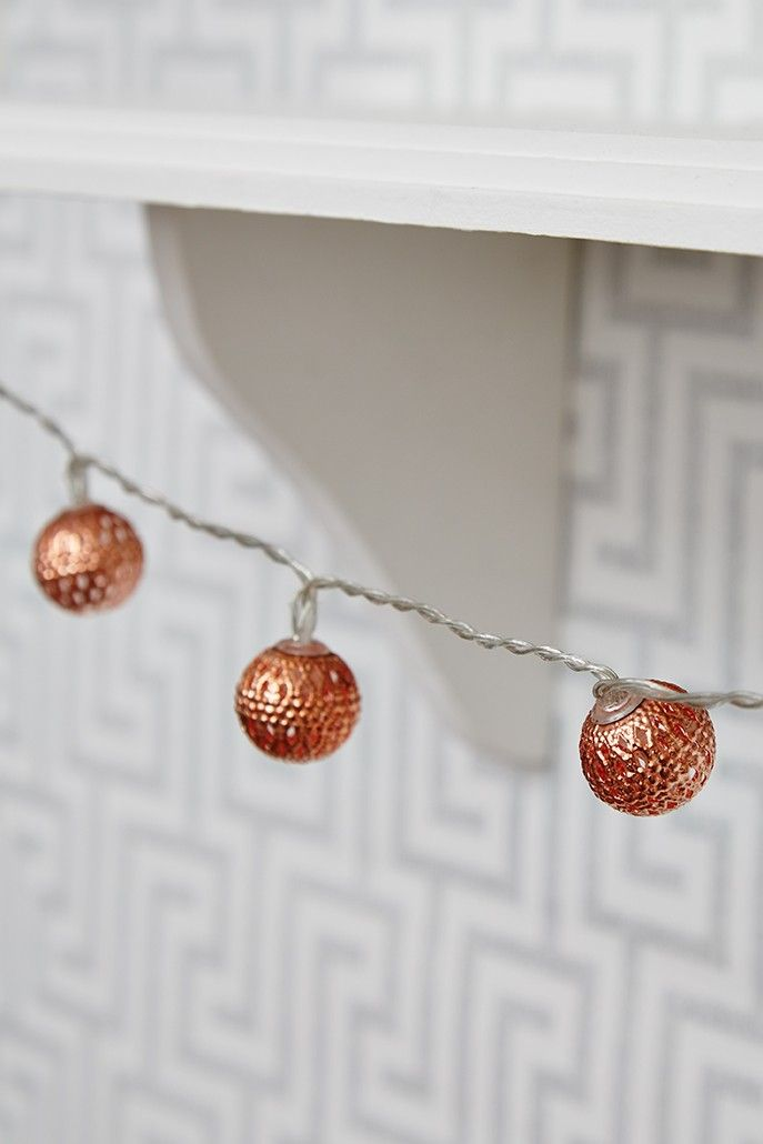 Moroccan Copper String Lights http://bit.ly/1NXZaMr Christmas Gifts to Give Pinterest ...