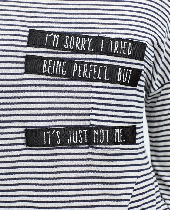 Image 3 of STRIPED T-SHIRT from Zara