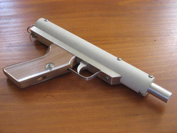 Custom Nerf Gun From New Zealand With A Firing Distance Of