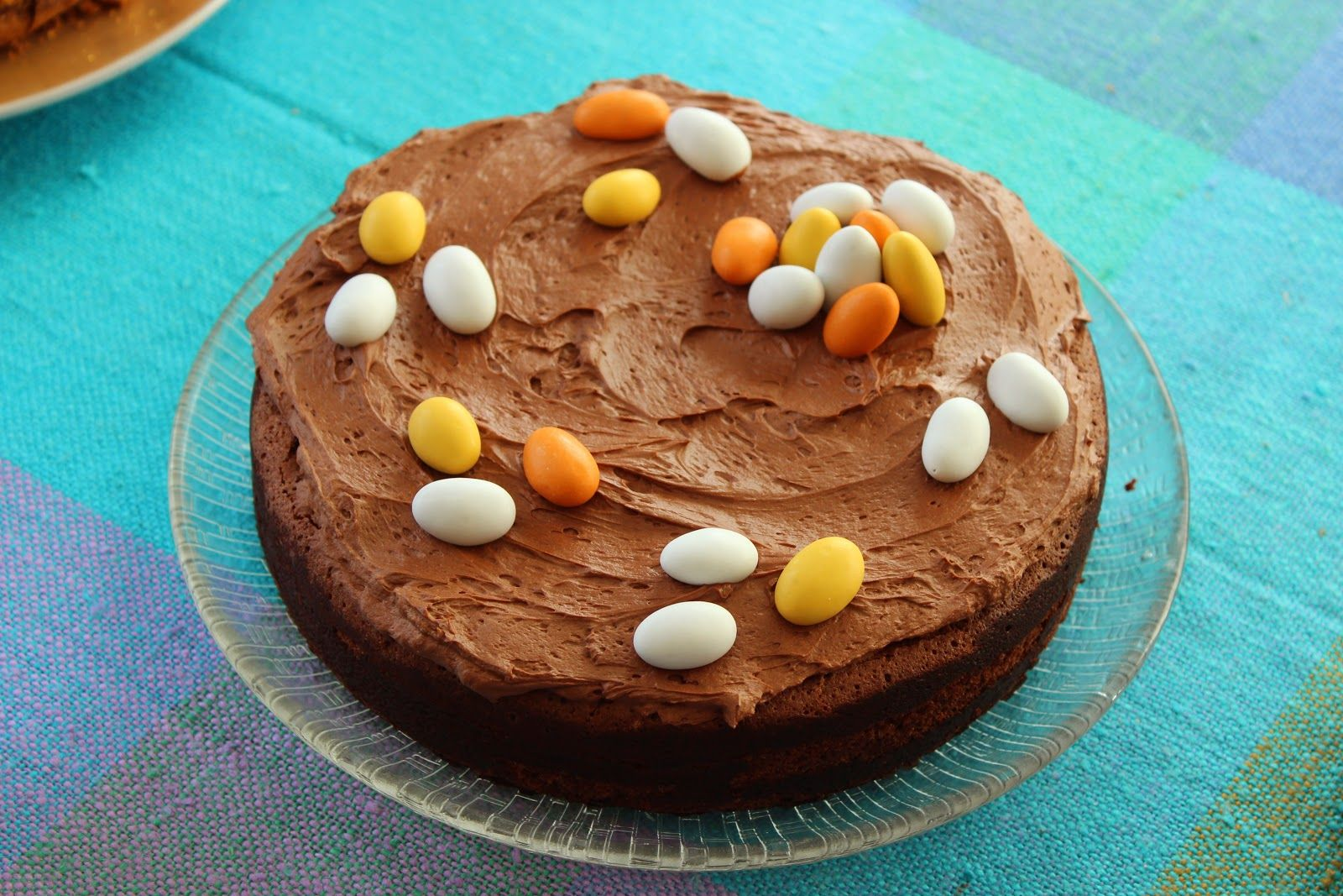 Liquorice and chocolate mudcake.