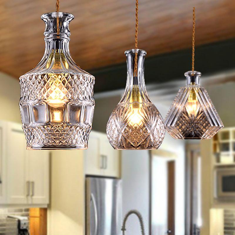 Abat-jour en verre Style Industriel Vintage pour lampe abat-jour en verre style campagne pour lampe /à suspension lustre plafonnier pendentif lumi/ère