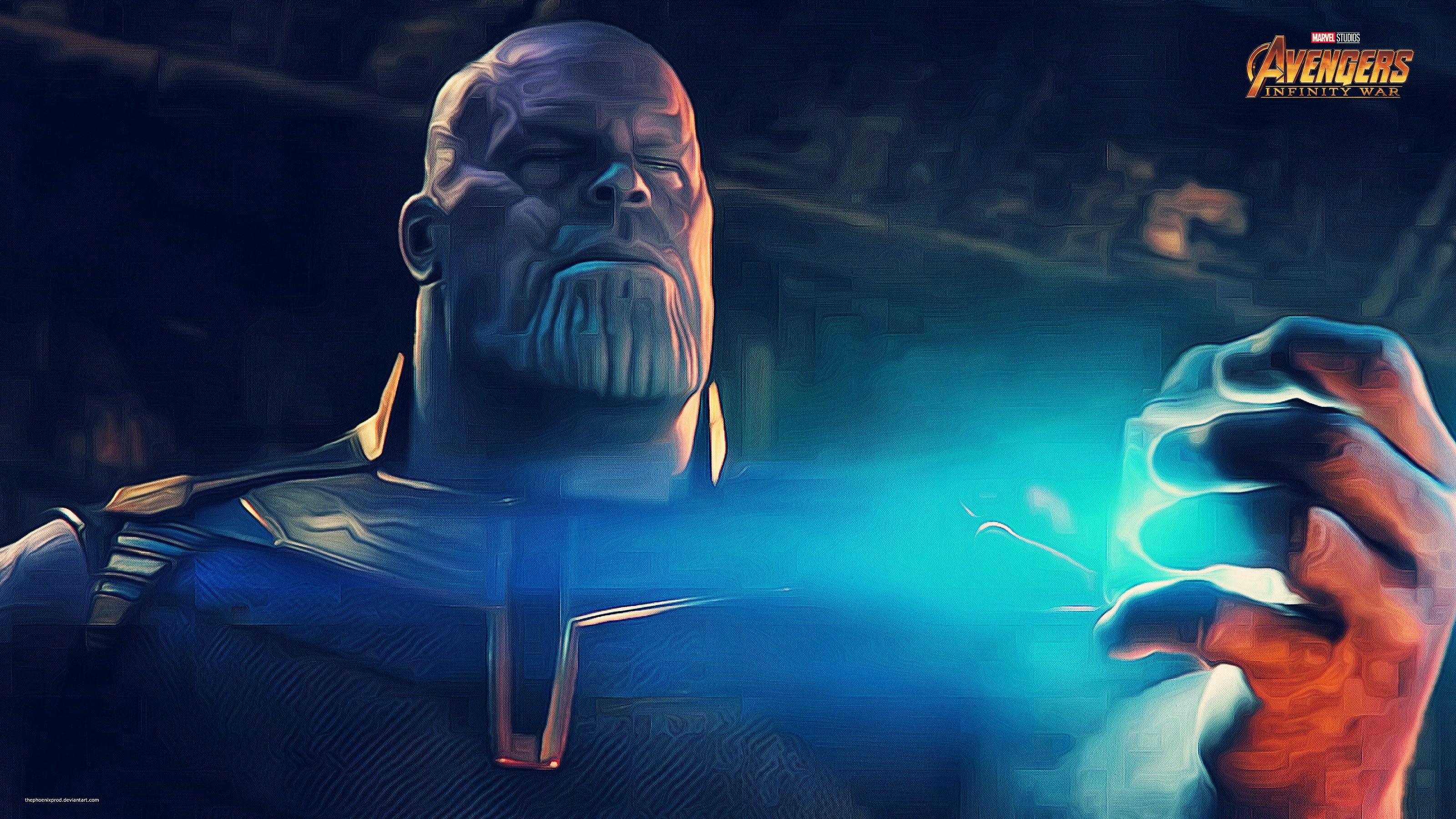 Avengers Infinity War Thanos 2k Wallpaper Hdwallpaper Desktop Marvel Infinity War Avengers Infinity War Avengers