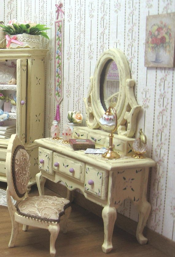 RESERVED FOR MARTA - Dressing table forniture style shabby/victorian ...