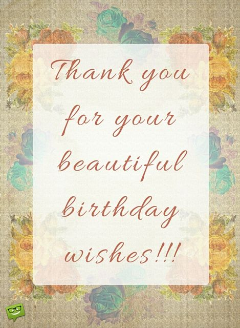 Thank You Images Thank You Quotes For Birthday Thank You