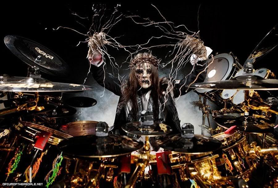 Drum Set Wallpaper | joey jordison wallpaper | Slipknot ...  Joey Jordison Drums Wallpaper