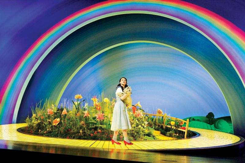 Danielle Hope as Dorothy with Toto - photo: Keith Pattison. Really ...