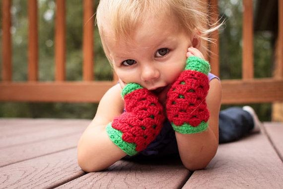 ♥ ~Instant Download - Crochet Pattern - LayerLove Fingerless Gloves (sizes toddler - lg. Adult) ~ Mamachee