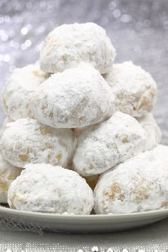 German Pfeffernusse Spice Holiday Cookies Recipe Cookies