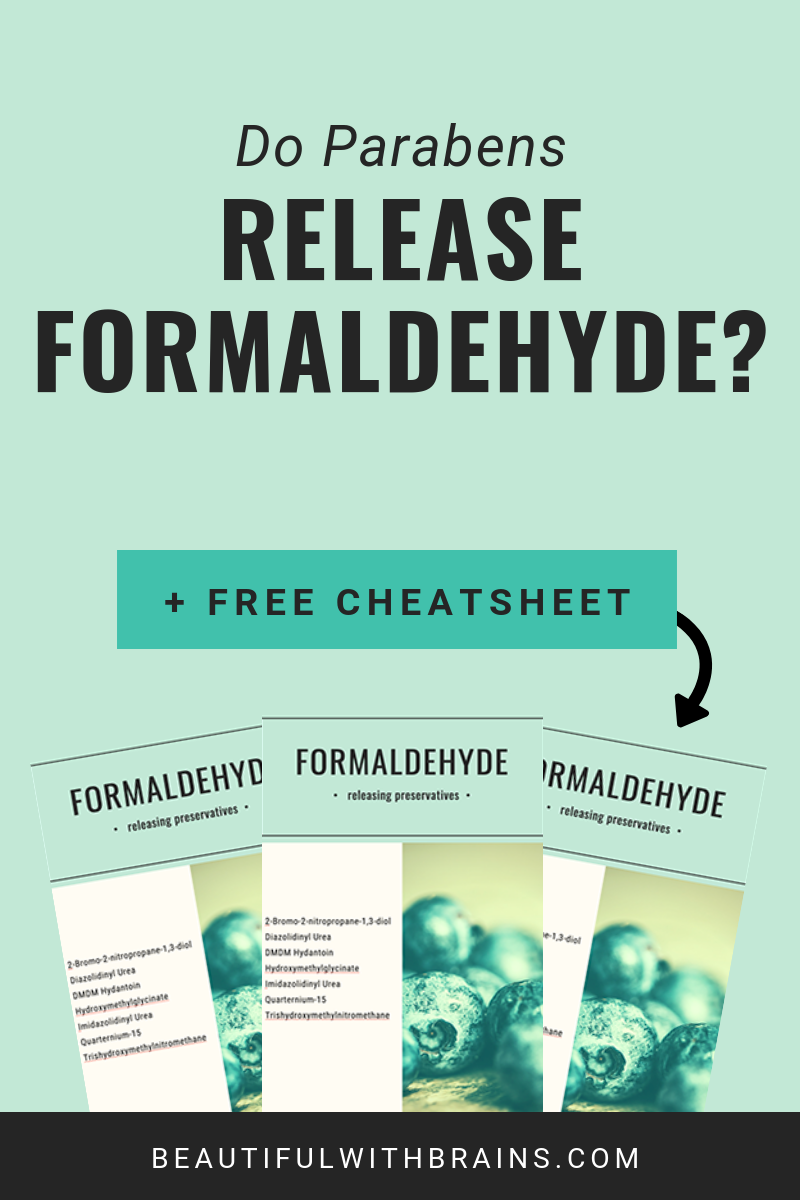 Do Parabens Release Formaldehyde Skincare Ingredients How To Find Out Skin Care