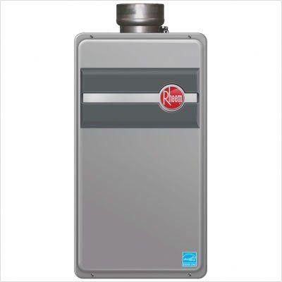 Rheem Rtg 64dvp Direct Vent Liquid Propane Tankless Water Heater For 1 2 Bathroom Homes Tankless Water Heater Gas Tankless Water Heater Water Heater