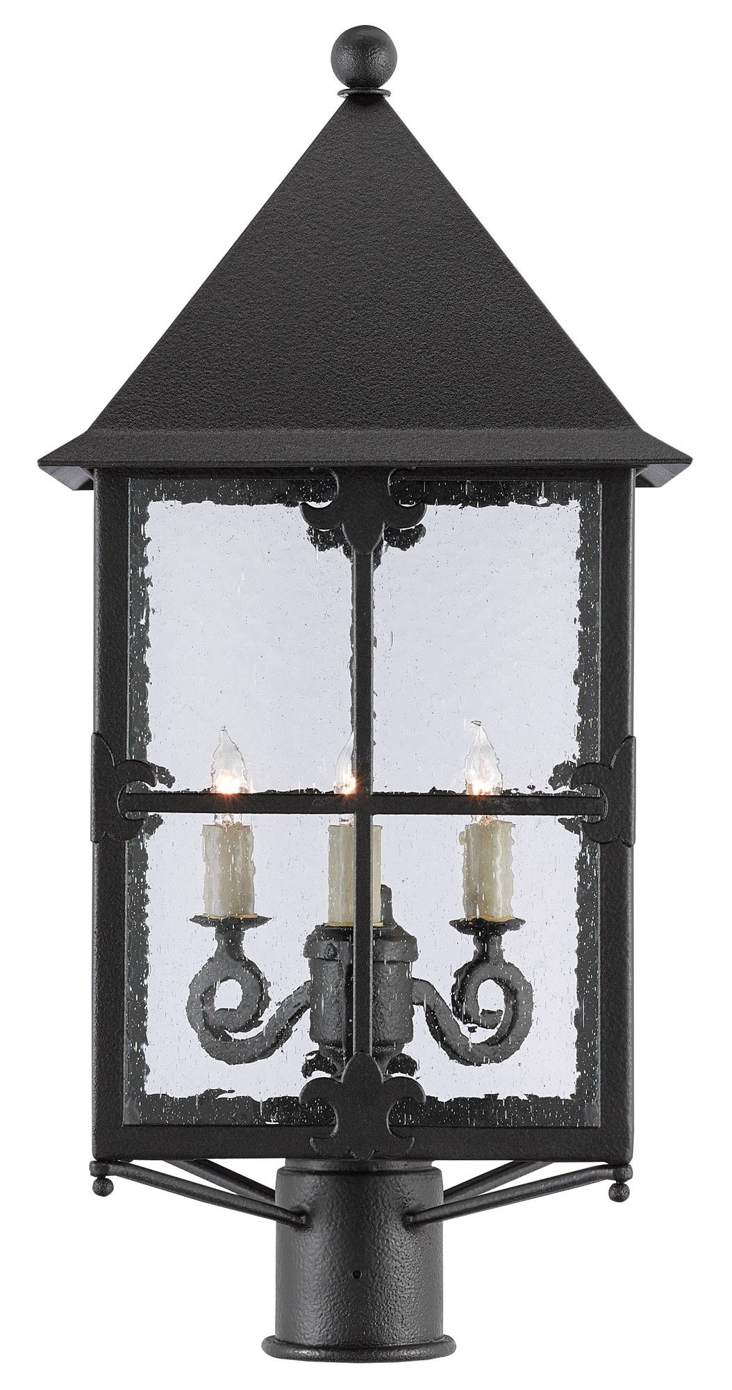 Currey Co Faracy Small Outdoor Post Light On Backorder Until December 2018