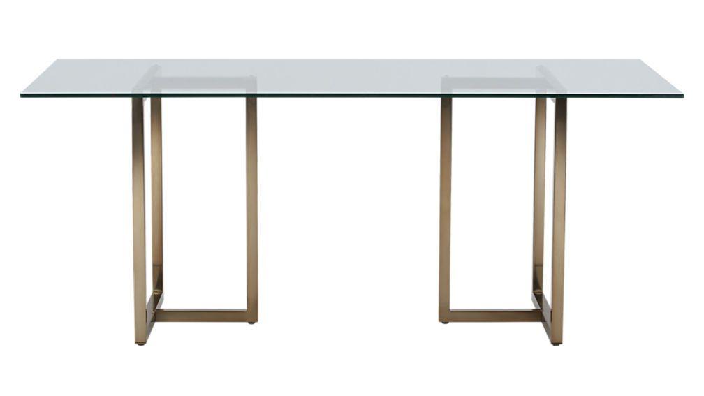 Magnificent Silverado Brass 72 Rectangular Dining Table Eo Project Creativecarmelina Interior Chair Design Creativecarmelinacom