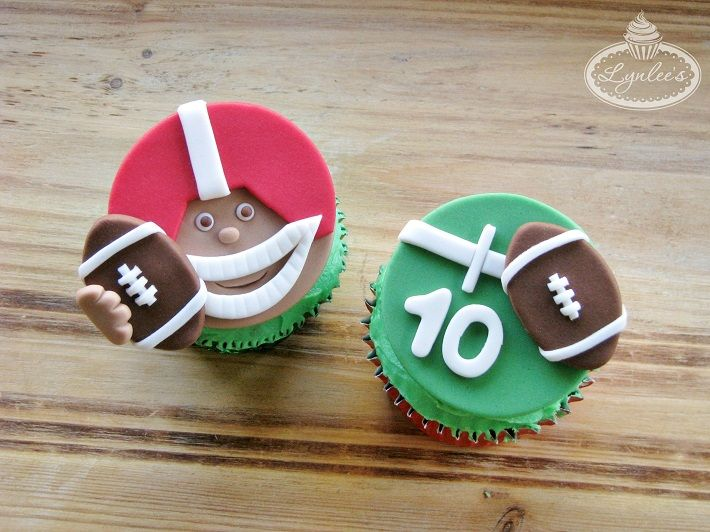 how to make a football cake with fondant