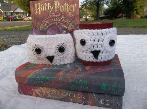 Harry Potter inspired Hedwig Mug Cozy