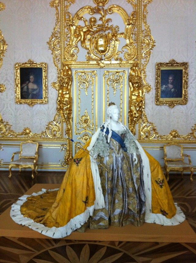 The Coronation Gown Of The Empress Elizabeth Petrovna Royalty