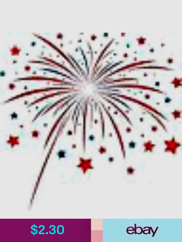 4th Of July Fireworks Nail Art Decorations Ebay Health Beauty Firework Nail Art Firework Nails Nail Art Manicure