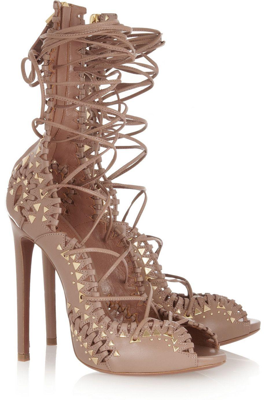FOOTWEAR - Lace-up shoes Alaia bJPXP180C0