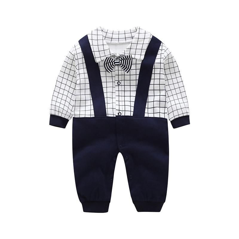8cf029e15e45 Autumn New Baby Rompers Spring Autumn Baby Boys Girls Clothes Long ...