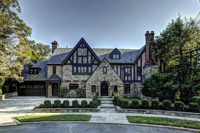 Tremendous Tudor With A Twist In D C The Shape Modern And Twists Inspirational Interior Design Netriciaus