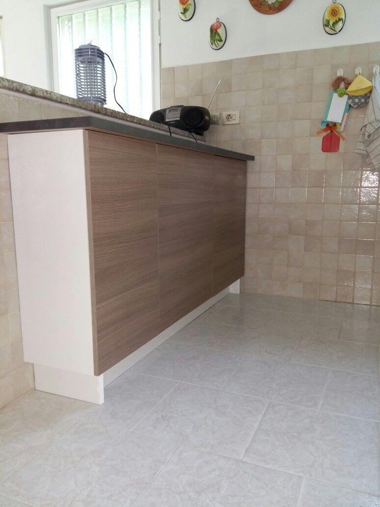 Ikea hack: da pensile KNOXHULT a base | arredo-cucina | Pinterest