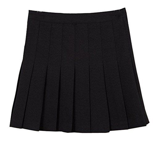 Women High Waist Pleated Party Evening Tennis Skater Skirts Mini Dress Colours Acefast Inc Http Www Amaz Mini Skirts Plus Size Mini Skirts Pleated Mini Skirt