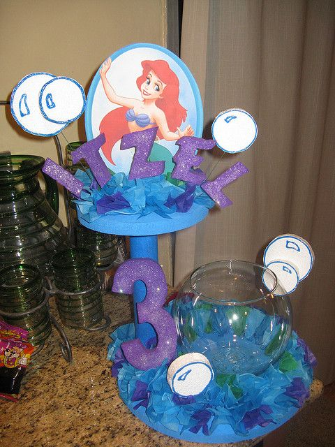 little mermaid decorations in 2019 party ideas little mermaid birthday mermaid birthday. Black Bedroom Furniture Sets. Home Design Ideas