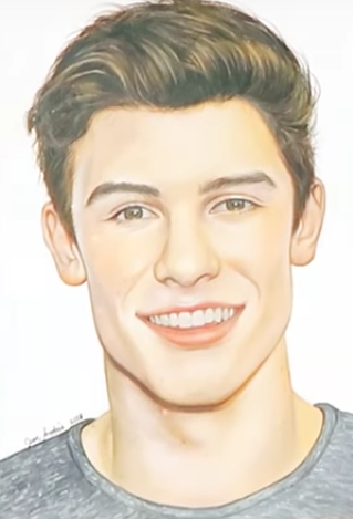 Wow I Wish I Could Draw Like This This Is Amazing Who Ever Drew This 3 Shawn Mendes Shawn Mendes Wallpaper Shawn Mendes Concert
