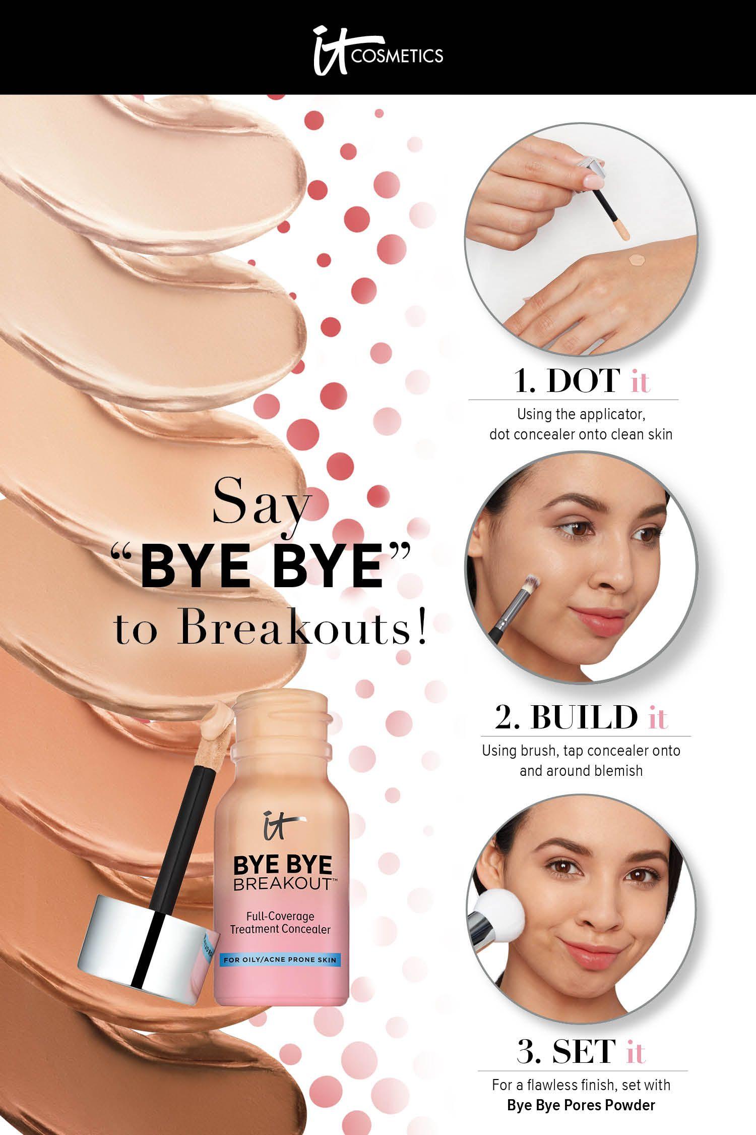 Bye Bye Breakout FullCoverage Concealer Best acne spot