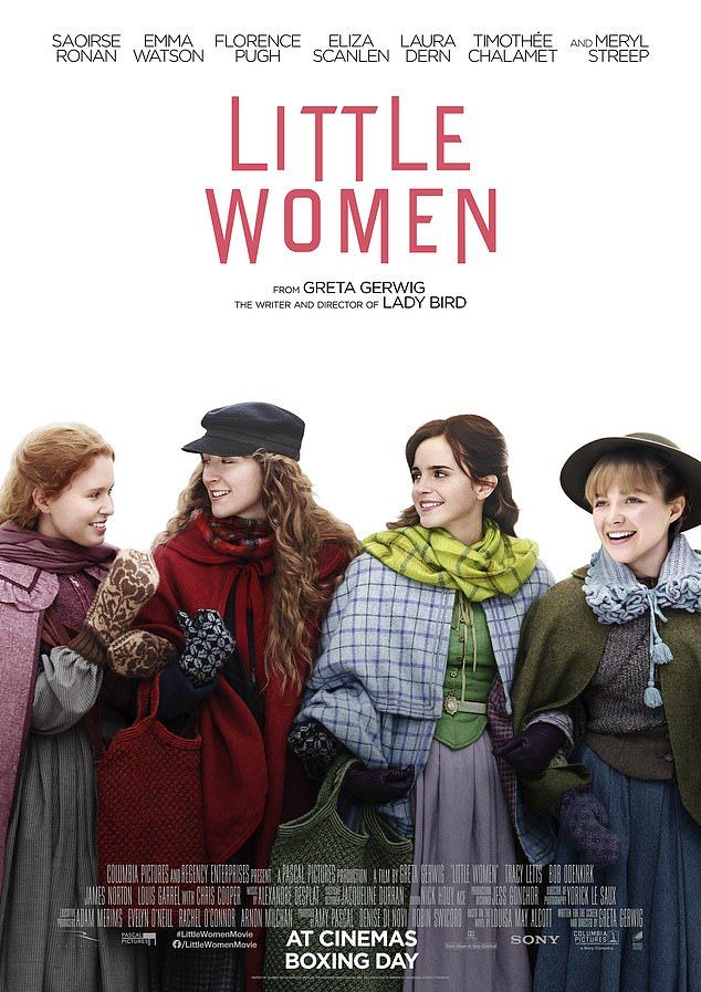 Saoirse Ronan transforms into Little Women character in film posters
