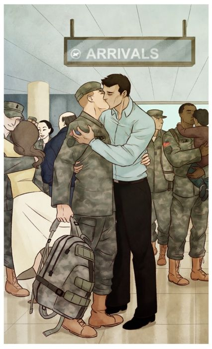 from Zaid gay soldier love