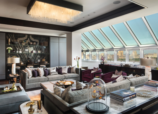 Beautiful Penthouse In New York Luxury Home Decor Penthouse