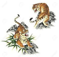 Image Result For Traditional Japanese Tiger Tattoo Designs Tattoo