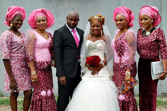 Songstress Davina Weds in Lagos