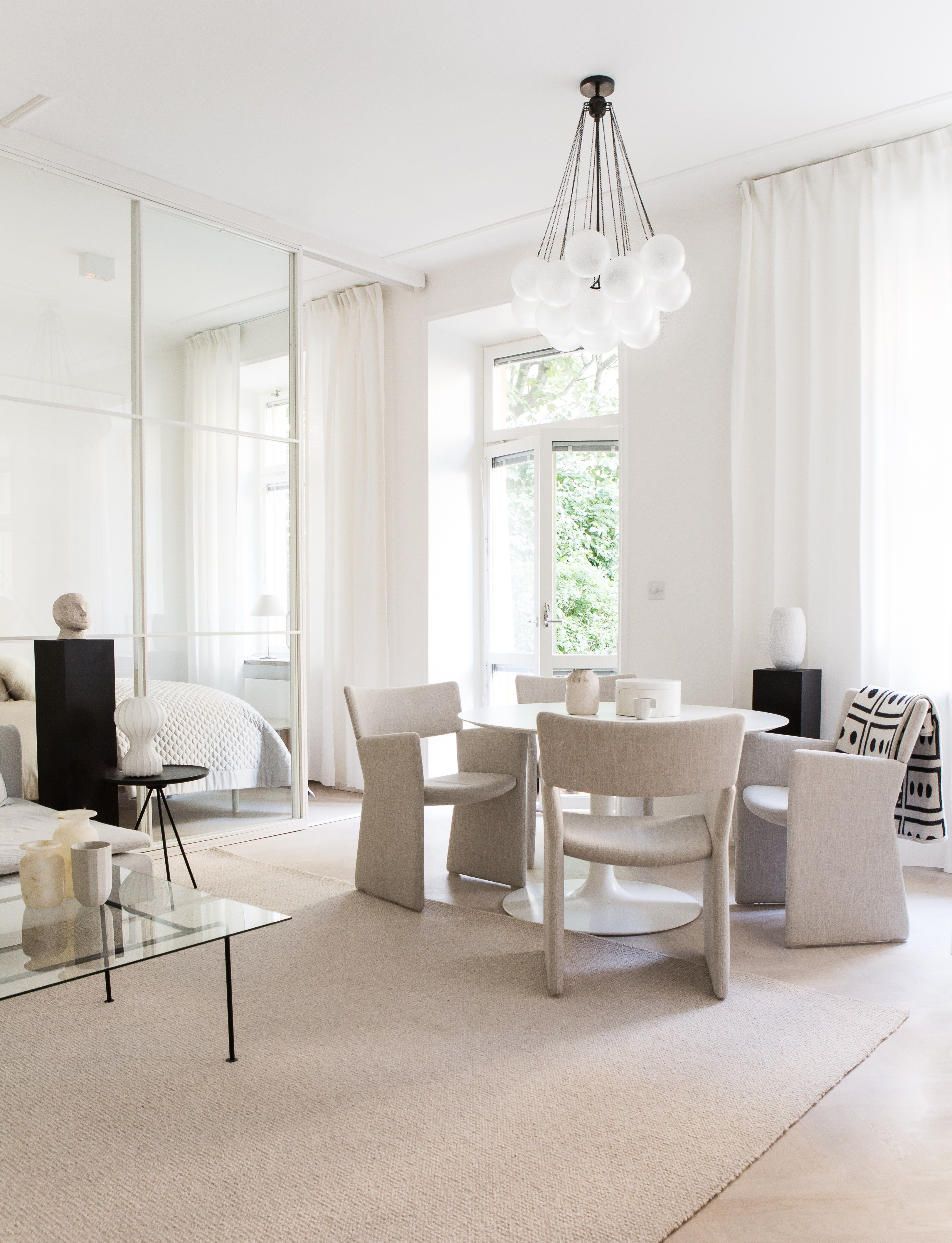 Home in beige, nudes and white - via Coco Lapine Design blog ...